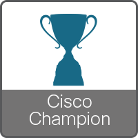 Cisco Champion Badge