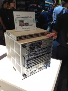 A Cisco Catalyst 6807-XL with a 6800ai on top