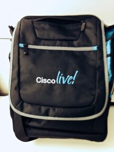 Cisco Live 2014 Bag Spy Photo