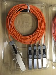 QSFP to SFP+ Breakout Cable