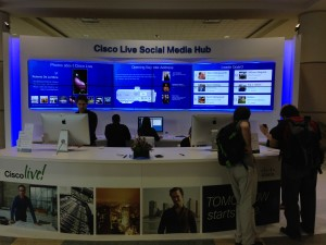 Cisco Live 2013 Social Media Hub