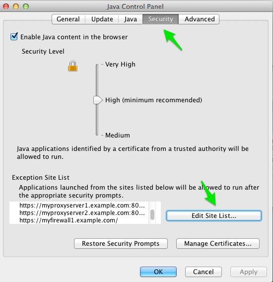Java Preferences